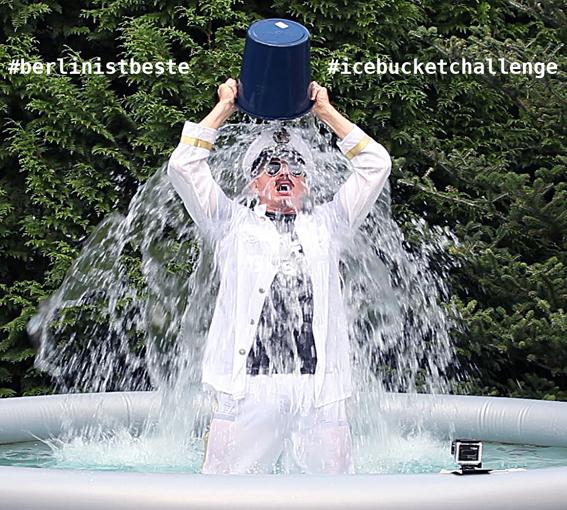 Ice Bucket Challenge Berlin - Berlin-Ist-Beste