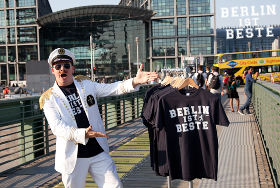 Berlin Hymne 2018 - Berlin-Ist-Beste - Videodreh mit dem Berliner Bär