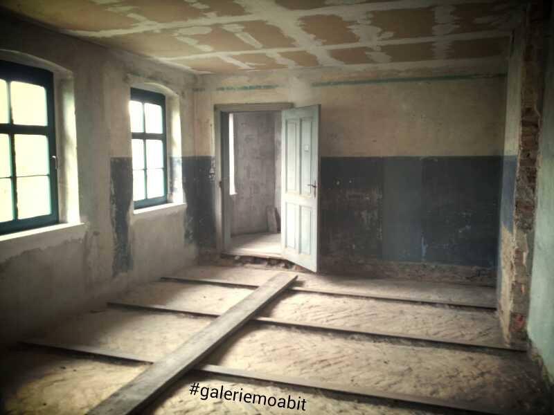 Galerie Moabit - Atelier Umbau 2014