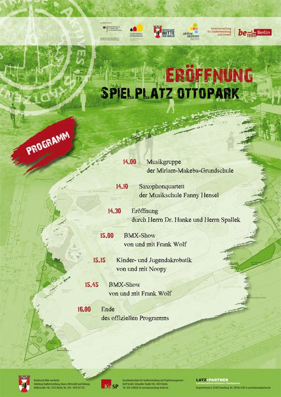 Ottopark Eröffnung 2012 - Berlin/Mitte